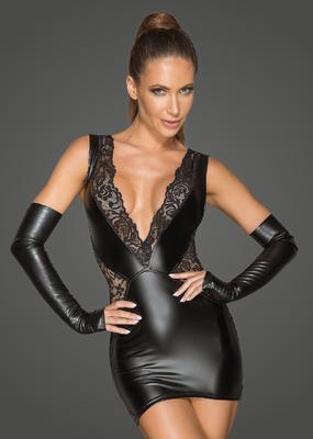 Mattlook Spitzen Kleid