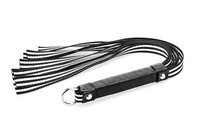 Black & White Fabric Whip