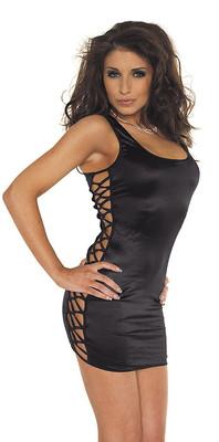 Sexy Minidress schwarz