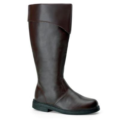 Kniehoher Stiefel für Männer CAPTAIN-105 braun