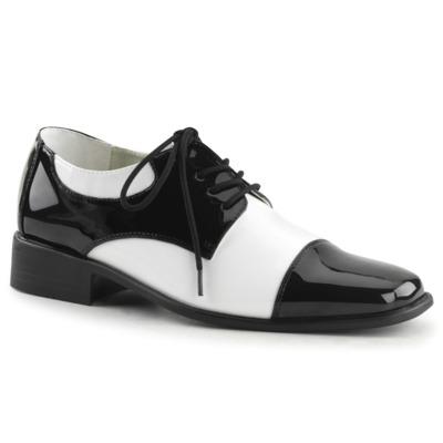 Disco Schuhe für Männer DISCO-18 schwarz / weiß