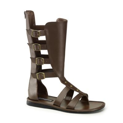 Gladiator Sandale für Männer SPARTAN-105 braun