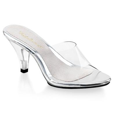 Klassische Pantolette BELLE-301 weiß