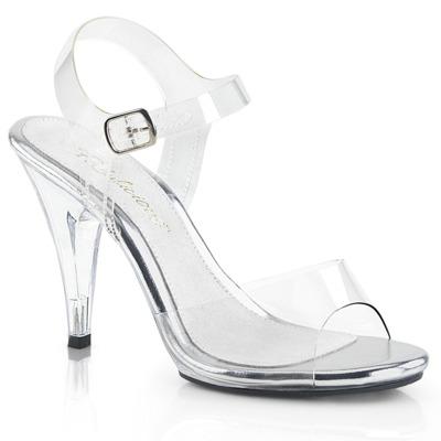 Sandaletten High Heels mit Knöchelriemen CARESS-408