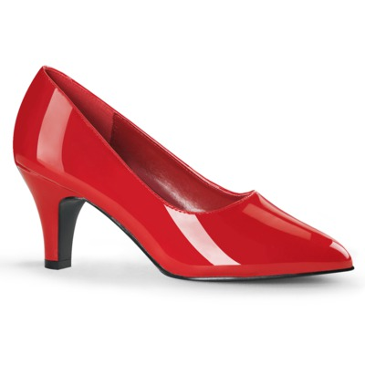 Low Heel Pumps DIVINE-420 rot