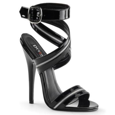 Sandaletten High Heels mit Knöchelriemen DOMINA-119