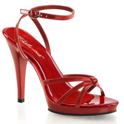 Riemchen Sandalette FLAIR-436 rot