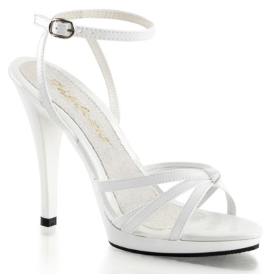Riemchen Sandalette FLAIR-436 weiß