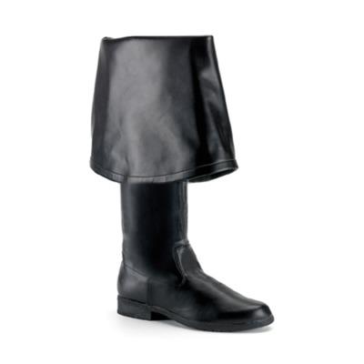 Piratenstiefel für Herren MAVERICK-2045 schwarz