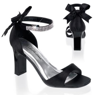 Sandaletten High Heels mit Knöchelriemen ROMANCE-372
