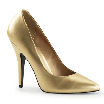 High Heel Pumps SEDUCE-420 Kunstleder gold