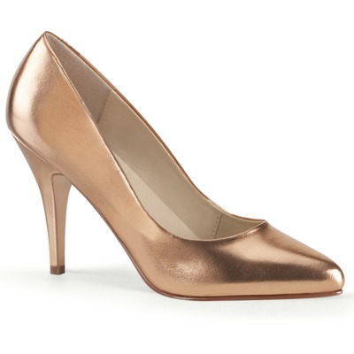 Pumps von Pleaser VANITY-420 rose / gold