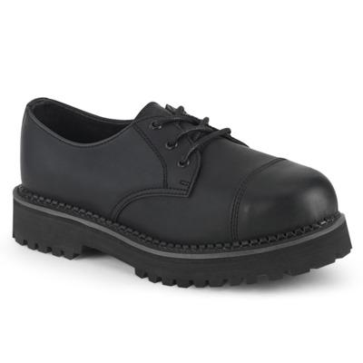 Unisex Schuh mit Stahlkappe RIOT-03 schwarz