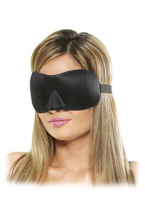 Weiche Augenmaske mit Nasenausformung