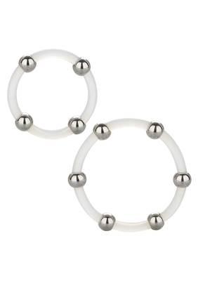 Silikon-Ring-Set mit Stahlkugeln
