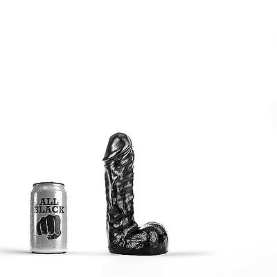 Schwarzer Dildo 19 x 5 cm