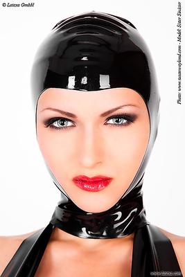 Gesichtsfreie Latexmaske Latexa 1128