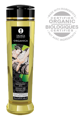 Massage Öl Organica Aroma & Fragrance free 240ml