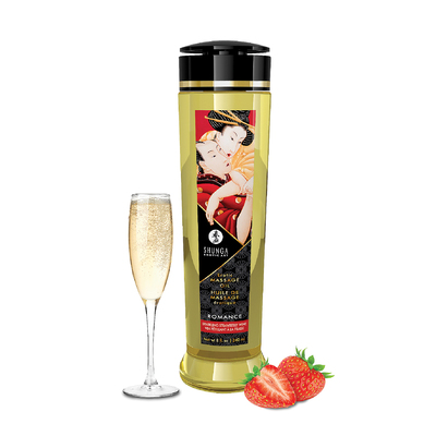 Massage Öl Romance (Sparkling Strawberry Wine) 240ml