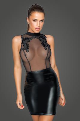 Kleid mit edler Stickerei