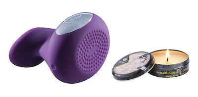 Sweetie Massage Set Vibrator + Massagekerze