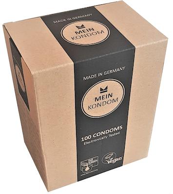 Sensation Gerippt & Genoppt - Konturiert – Fair & Vegan 100er Box