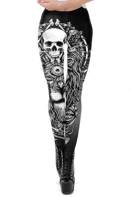 Totenkopf Leggings
