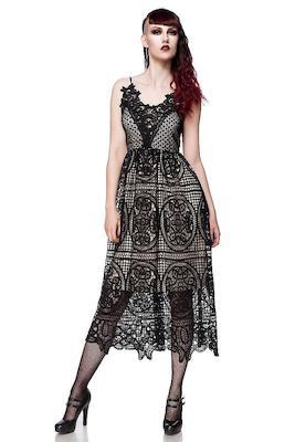 Gothic Kleid aus Spitze