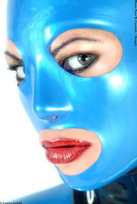Anatomische Latexmaske für Frauen Latexa 1159