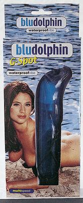 Blu Dolphin Waterproof G-Spot Vibrator 18,5cm