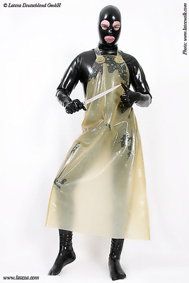 Latex-Schlachterschürze Latexa 3060