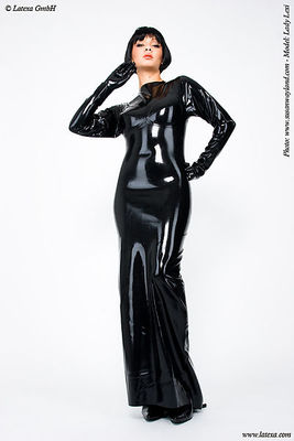 Latex-Abendkleid Latexa 3073