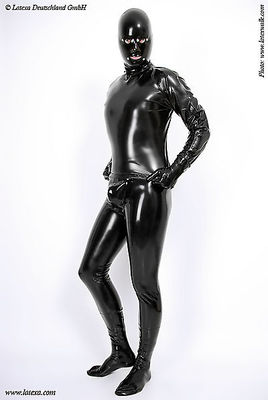 Latexleggings mit Codpiece Latexa 3152