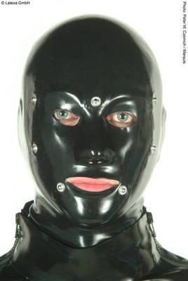 Anatomische System Latexmaske mit RV Latexa 3180