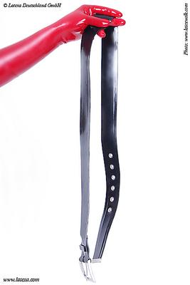 Latex Gürtel, geklebt Latexa 3191