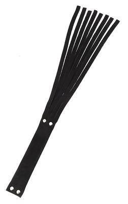 Peitsche Leder schwarz
