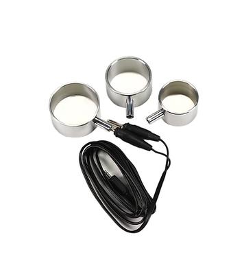 Set Electrical Alu Cockrings + Gable