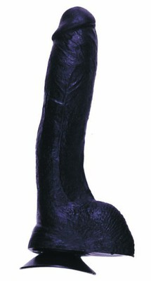 THE REAL ONE Penisdildo black 24cm