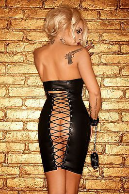 Mini Dress Hot Back