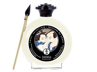 Essbare Körperfarbe von Shunga mit Vanille-Geschmack