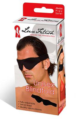 LUX FETISH Unisex Blindfold