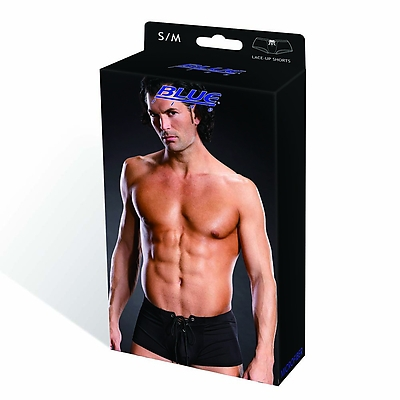 BLUE LINE Performance Microfiber Lace-Up Trunk blk S/M
