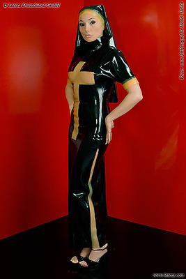 Latex Nonnen-Uniform Latexa 3299