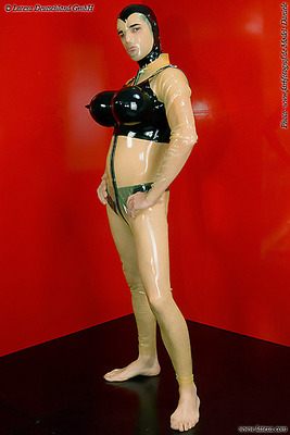 Latex Transvestiten-BH Latexa 3296