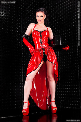 Latex-Kabarett-Kleid Latexa 3275