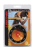 SPARTACUS Leather 6-Speed-Ring