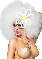 Funky Afro Wig With Adjustable Elastic Strap