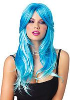 Glow Two-Tone Long Curly Wig