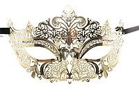 OUCH! Masquerade Mask gold