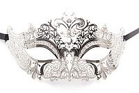 OUCH! Masquerade Mask silver